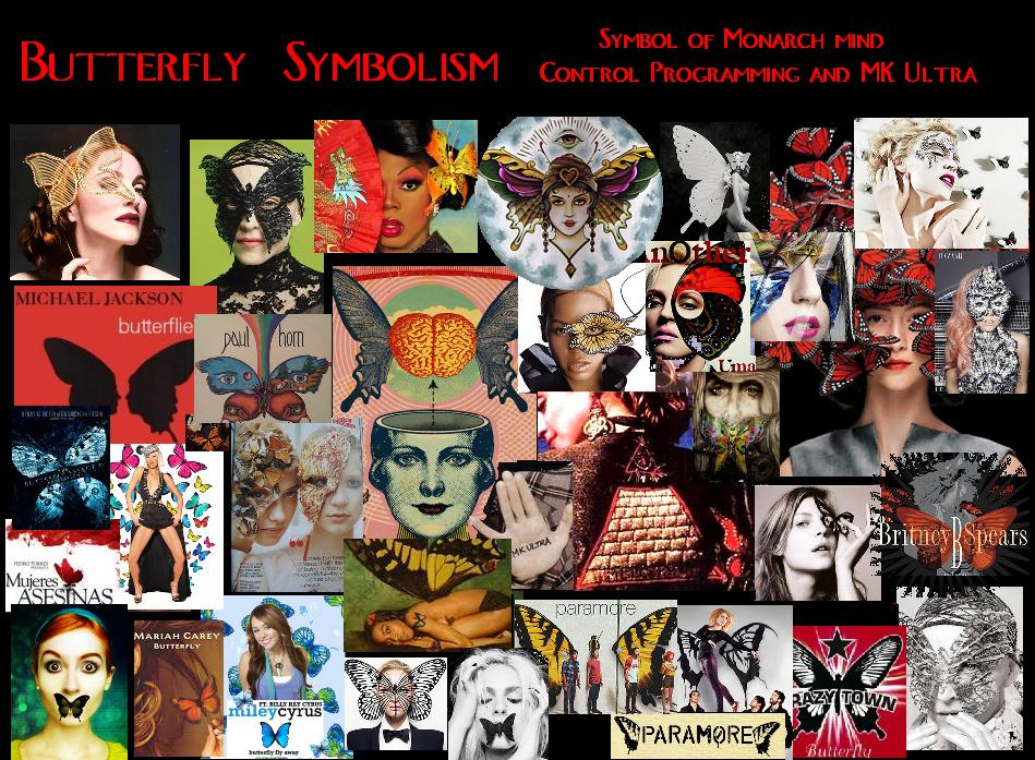Butterfly Symbolism Mind Control Programming MK ultra